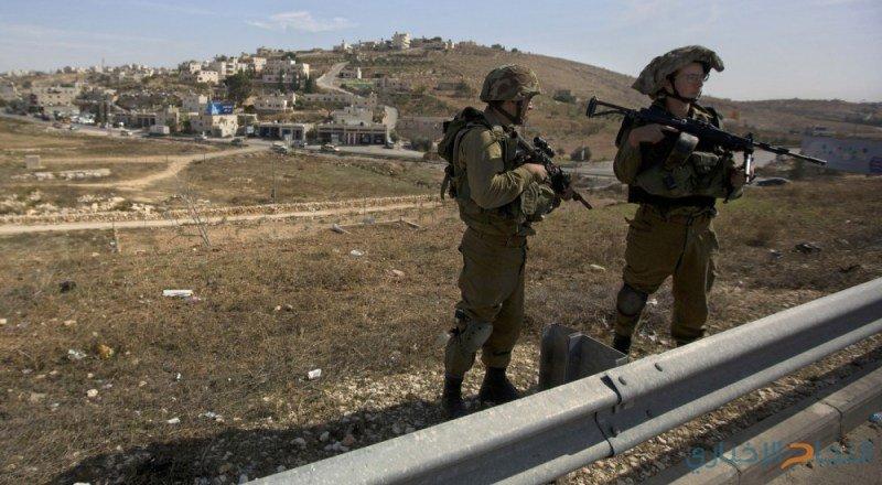 الاحتلال يمنع شق طريق في قريوت