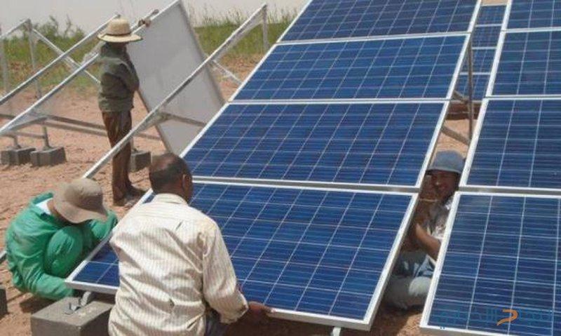 الانتهاء من تركيب نظام طاقة شمسية في الخان الأحمر