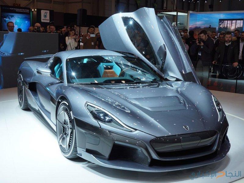 سيارة كهربائية خارقة ذاتية القيادة بقوة 1,914 حصان