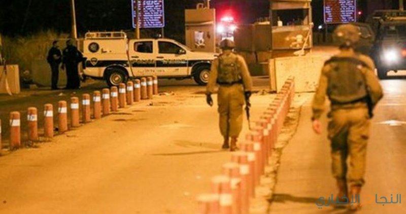 قوات الاحتلال تطلق النار على مركبة شرق رام الله
