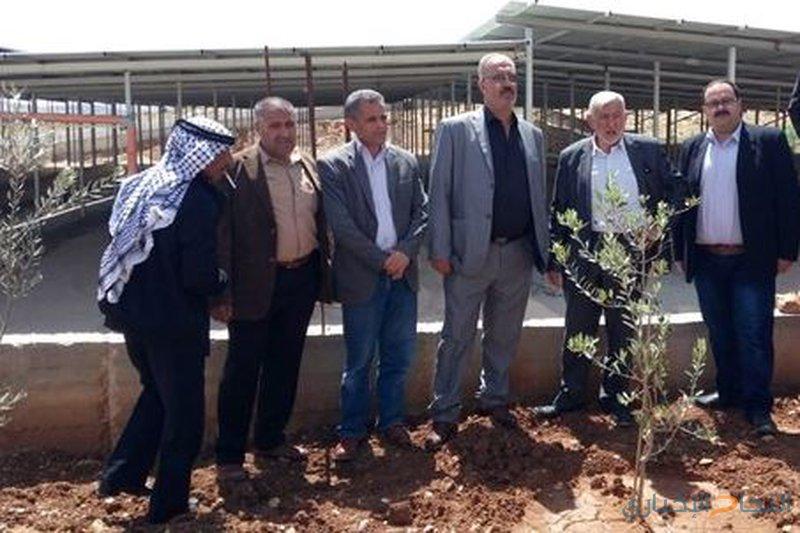وزير الزراعة يتفقد الواقع الزراعي في محافظة جنين