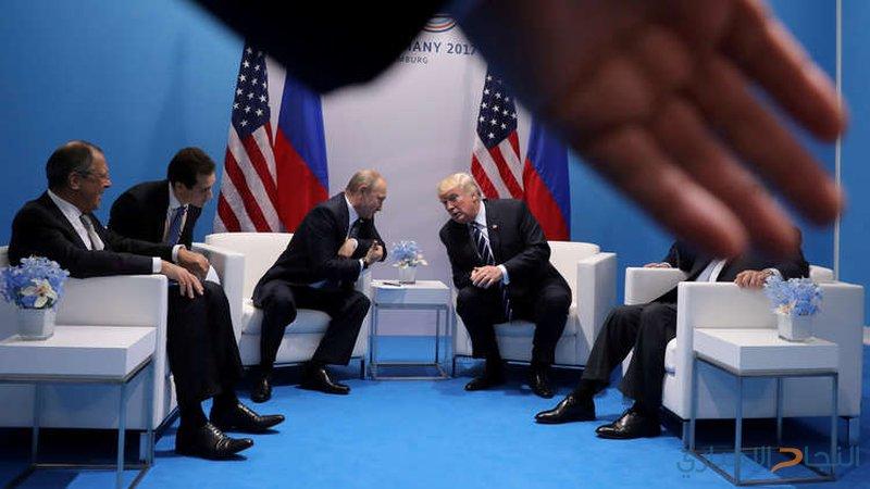 الكرملين: لقاء وجيز بين بوتين وترامب في باريس