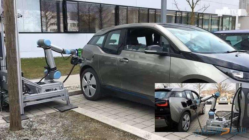 روبوتات روسية تزود السيارات والطائرات بالوقود