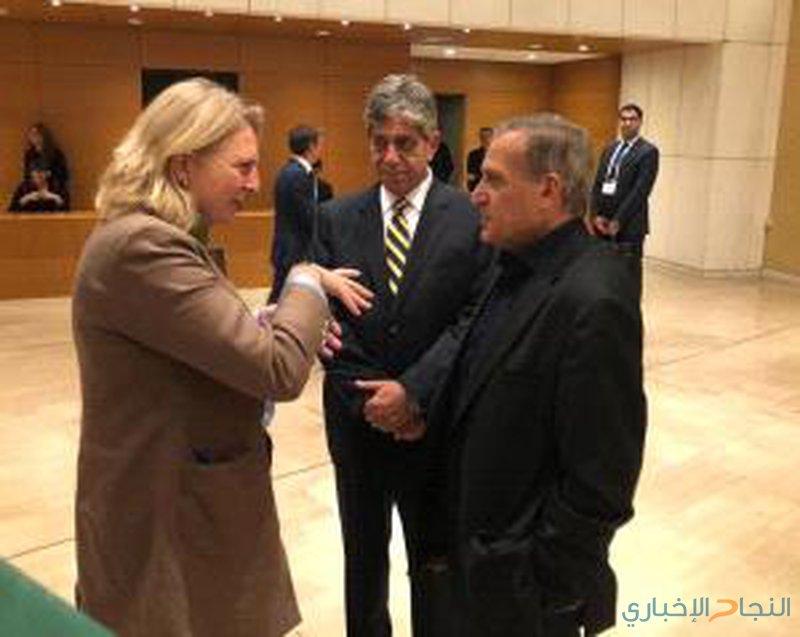أبو ردينة يلتقي وزيرة خارجية النمسا