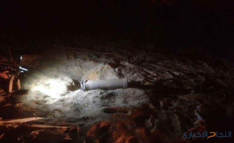 الاحتلال: العثور على صاروخ في عسقلان أطلق من غزة