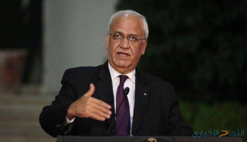عريقات: لن نسمح بفرض السيادة الإسرائيلية على أراضي دولة فلسطين