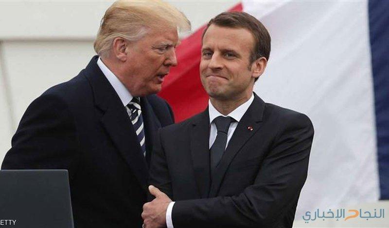 """ترمب يستغل تظاهرات """"السترات الصفراء"""" في فرنسا"""