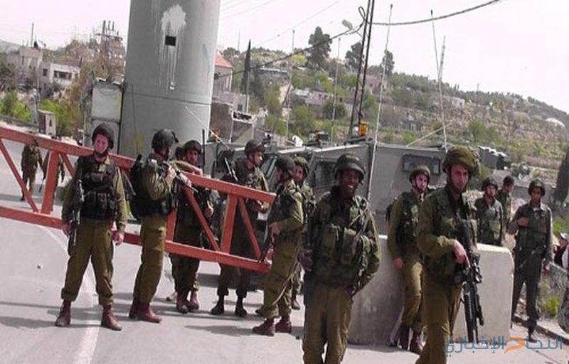الاحتلال يغلق حاجز بيت اكسا بالقدس المحتلة