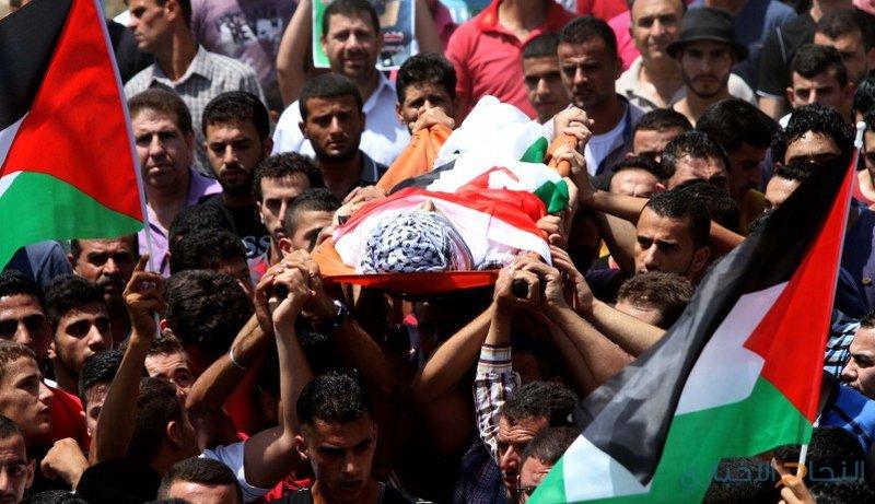 الآلاف يشيعون الشهداء الأربعة في قطاع غزة