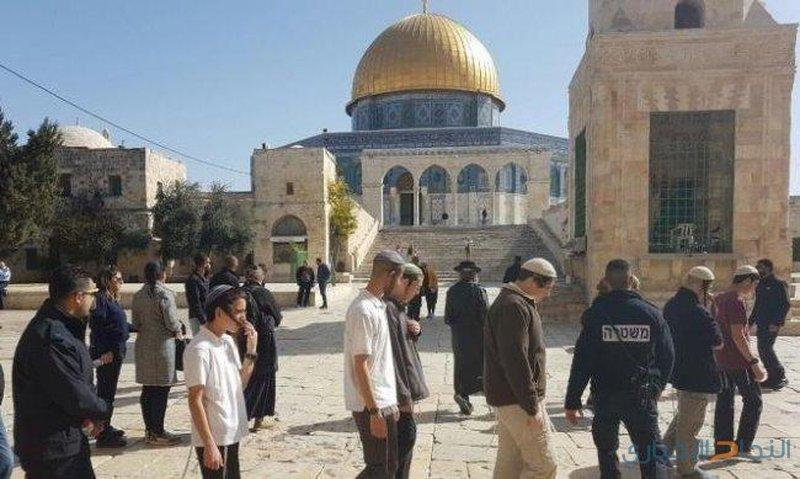 حملة اعتداءات وانتهاكات في المسجد الأقصى