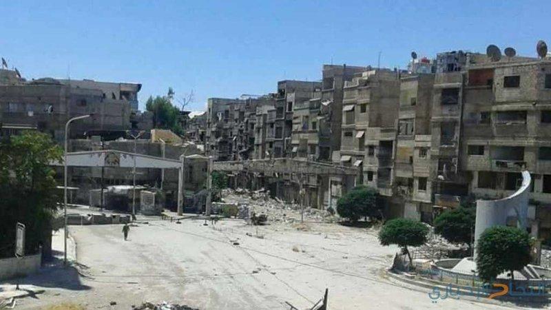 دمشق: تسارع وتيرة العمل في مخيم اليرموك