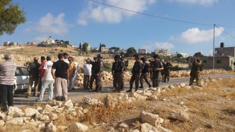 """الاحتلال يستولي على """"كرفان"""" زراعي شمال غرب بيت لحم"""