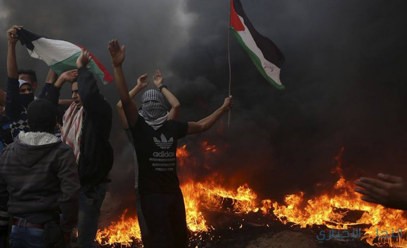 """غزة تستعد لـجمعة """"شعبنا سيسقط الوعد المشؤوم"""""""