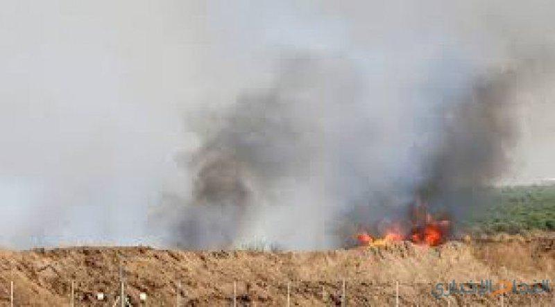 6 حرائق بفعل طائرات ورقية حارقة في مستوطنات غلاف غزة