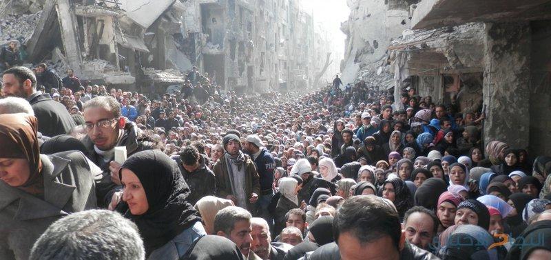 سوريا تقرر عودة اللاجئين الفلسطينيين لمخيم اليرموك