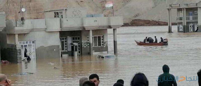 سقوط عدد من الضحايا في فيضانات اجتاحت الموصل