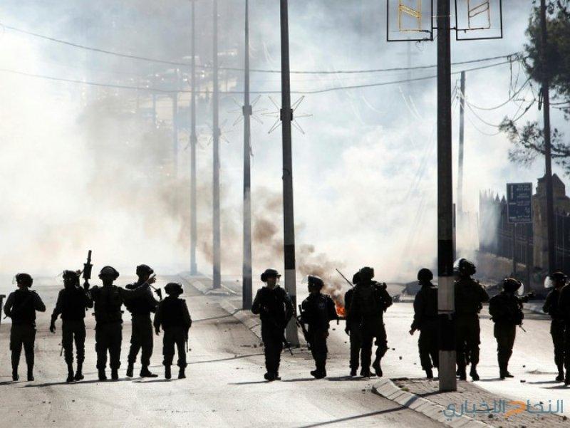 إصابات بالاختناق جراء قمع الاحتلال لمسيرات سلمية