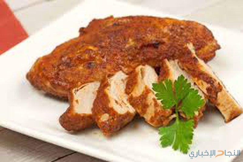وصفة دجاج بالفرن بالقصدير
