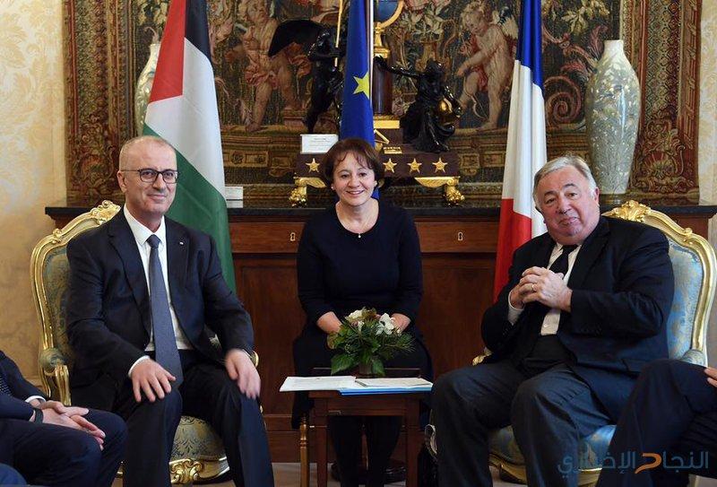 رصاص: نثمن عاليًا دور فرنسا وموقفها الداعم لفلسطين