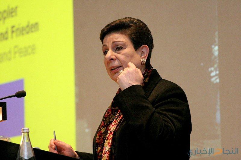 عشراوي تطلع ممثل النمسا على آخر التطورات السياسية